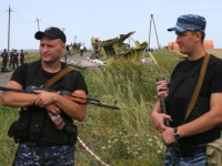 بقایای جدید از هواپیمای ساقط شده در آسمان اوکراین پیداشد