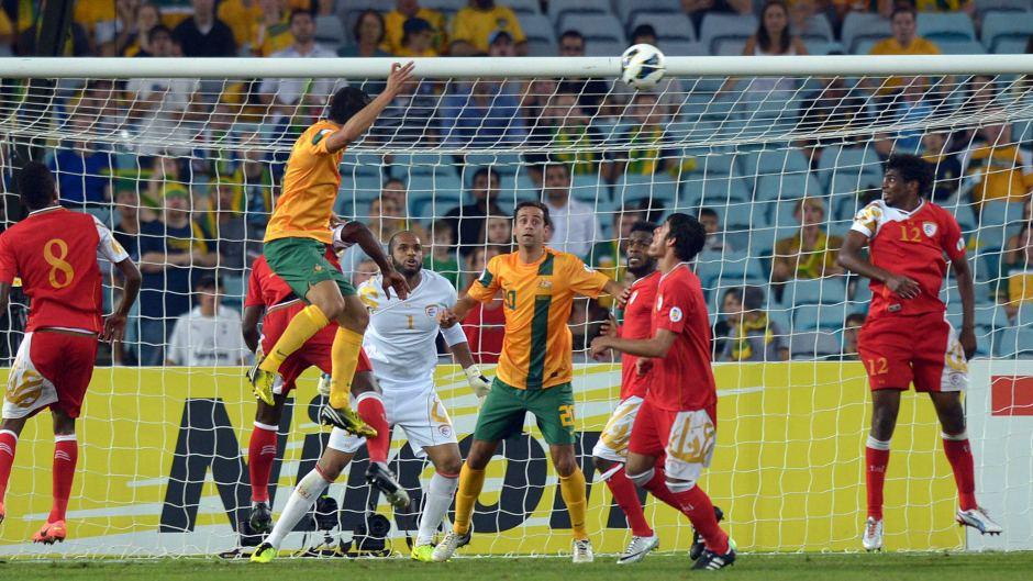 پیروزی چهار بر صفر استرالیا مقابل عمان-persian-herlad
