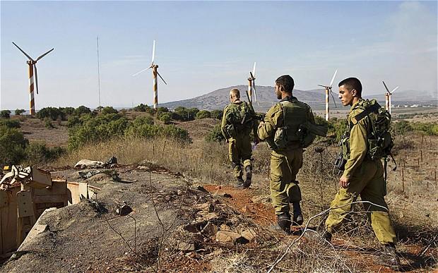مرگ چهار نفر در حمله اسرائیل به بلندی های جولان
