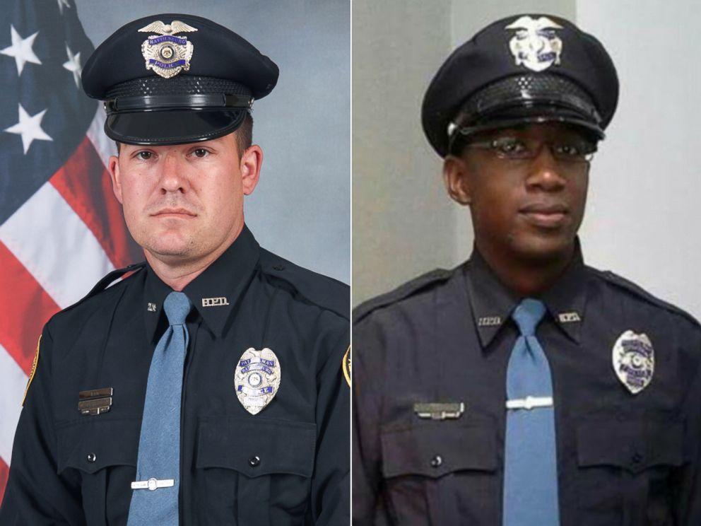 بازداشت ها پس از قتل دو مامور پلیس در آمریکا به ضرب گلوله