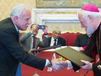 واتیکان پیمان به رسمیت شناختن کشور مستقل فلسطین را امضا کرد