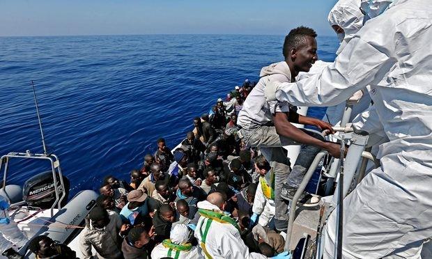 جسد پنجاه نفر در انبار کشتی حامل پناهجویان در سواحل لیبی پیدا شد