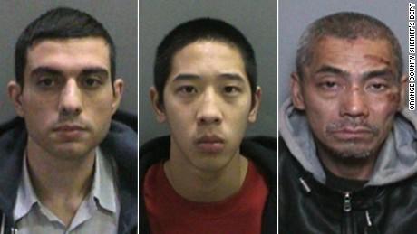 یک معلم ایرانی به سه فراری از زندان کالیفرنیا 'کمک کرده است'