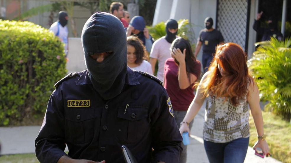 هجوم غافلگیرکننده پلیس پاناما-Persian-Herald-Australia