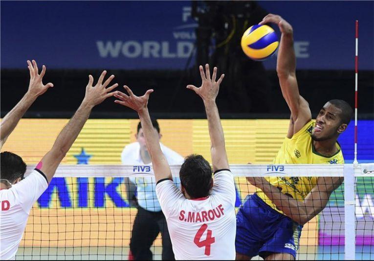 باخت والیبال ایران برابر برزیل-Persian Herald-News-Australia