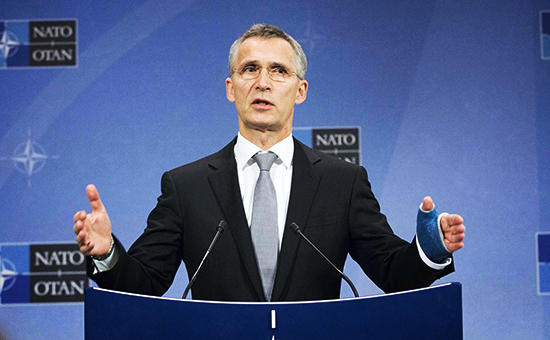 Foreign ministers meeting at the North Atlantic Treaty Organization's (NATO)