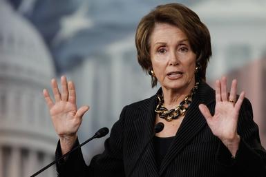Nancy Pelosi Holds Her Weekly Briefing