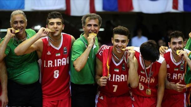 تیم بسکتبال جوانان ایران قهرمان آسیا شد-Persian-Herald-Australia