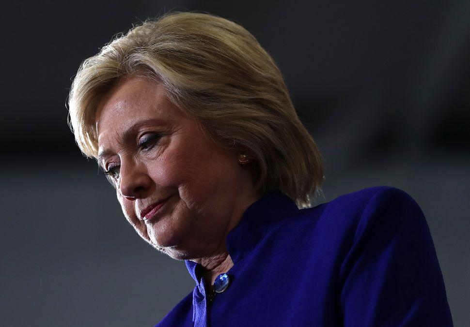 Hillary Clinton Campaigns In Orlando, Florida