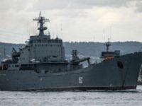 کشتی شناسایی روسیه در پی برخورد با یک کشتی باری در آبهای ترکیه غرق شد