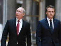 رئیس جمهور فرانسه از گفتگوی 'صریح' با پوتین خبر داد