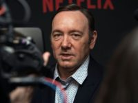 "Actor Kevin Spacey arrives at the season 4 premiere screening of the Netflix show ""House of Cards"" in Washington, DC, on February 22, 2016. / AFP / Nicholas Kamm        (Photo credit should read NICHOLAS KAMM/AFP/Getty Images)"