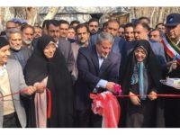 افتتاح دومین سامانه ذخیره و توزیع اضطراری آب تهران
