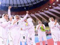 زنان ایران قهرمان فوتسال آسیا شدند