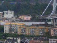 ریزش پل هوایی اتوبان در ایتالیا دستکم سی و پنج کشته برجای گذاشت