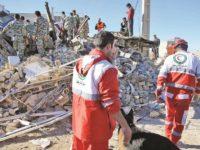 زلزله غرب کرمانشاه؛ دست کم یک کشته و ۱۰۰ زخمی