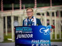 نوجوان استرالیایی قهرمان مسابقات جهانی پهپاد شد